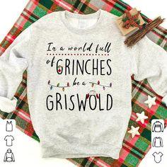 Christmas Shirts, Christmas Sweaters, Christmas Vinyl, V Neck Tank Top, Christmas Vacation, Halloween Shirt, Custom T, Cotton Tee, Shirt Designs