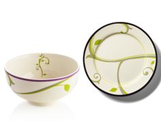 """Portion-Control Dinnerware by Precise Portions $50.00  Your purchase includes:  2 LIFE-style Plates (10"""" diameter), 2 Portion control Bowls (5"""" diameter), 10 Place Mats & 16-page quick start healthy eating guide"""