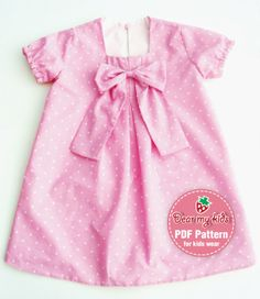 toddlers dress patterns   Patterns and instructions available HERE !!
