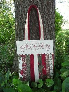 Love this!    Gail's bag by Bloom and Blossom, via Flickr