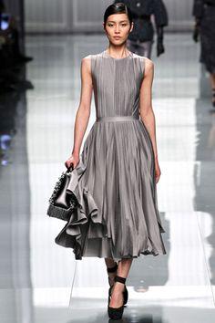 love pleated dresses. dior