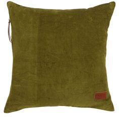 Díszpárna JERNURT 45x45 zöld | JYSK
