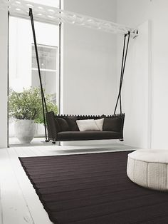 indoor swingasan chair what size bean bag do i need 24 best hanging chairs images really loved how this is an swing it adds a feeling of movement in the room literally and easily becomes focal point