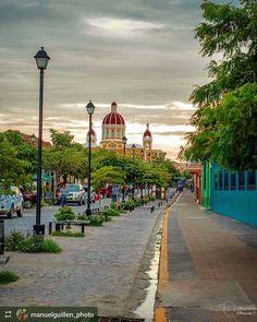 http://OkGranada.com #Follow @manuelguillen_photo : Walking in This Street... #Granada #Nicaragua #ILoveGranada #AmoGranada #Travel #CentralAmerica #GranadaNicaragua #architecture #colonial #spanish