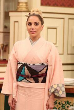 キモノのこと — anji-salz:   Lady Gaga will be on Japanese TV...