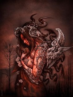 e5ab70999ae Cthluhu Princess by David Bollt. Gothic ImagesArt ...
