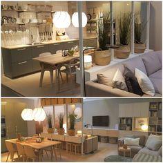 spešný deň #toto sa nám podarilo #Besta #Kivik #Elvarli #IKE Ikea Living Room, Living Spaces, Elvarli Ikea, Ikea Showroom, Ikea Room Divider, Nyc Studio Apartments, Interior Styling, Interior Design, Best Ikea