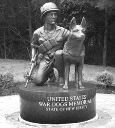 The United States War Dogs Memorial was dedicated at the New Jersey Vietnam Veterans Memorial in Holmdel June 10. Approximately 500 people attended the event with many attendees bringing their scout and sentry dogs to honor the tens of thousands of K-9s that served in the United States Armed Forces since World War I.War Dog Memorial