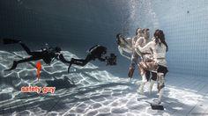 Safety underwater realm