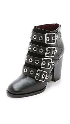 Marc by Marc Jacobs Women's Marnie Multi Strap Heel Boot, Black - http://www.womansindex.com/marc-by-marc-jacobs-womens-marnie-multi-strap-heel-boot-black/