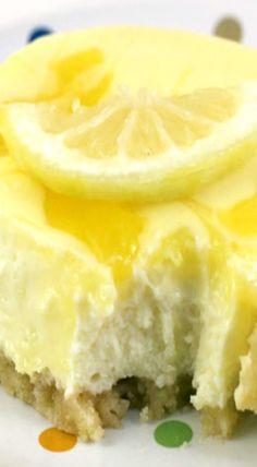 Lemon Swirl Cheesecake Bars
