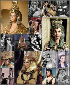 "Cleopatra: 1)Theda Bara(1917) 2)Claudete Colbert(1934), 3)Vivien Leigh(1946) 4)Rhonda Fleming(1953) 5)Sophia Loren(1953) 6)Elizabeth Taylor(1963) 7)Lucille Ball in  ""The Lucy Show"",1963"