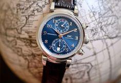 "Vinci Chronograph Edition ""Laureus Sport for Good Foundation"" Iwc Watches, Watches For Men, Best Foundation, Chronograph, Sports, Accessories, Wristwatches, Hs Sports, Men's Watches"