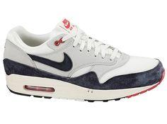 Nike Air Max 1 OG White Navy Red