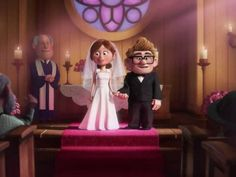 My wedding style is like the one in Up!!