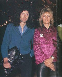 Brian May and Roger Taylor of Queen. Queen Brian May, I Am A Queen, Queen Ii, Brian Rogers, Roger Taylor Queen, Queen Photos, Greatest Rock Bands, Queen Freddie Mercury, Queen Band