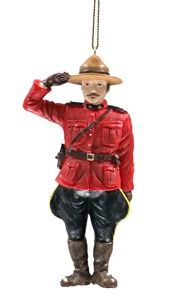canadian christmas ornaments mounties always get their tree - Christmas Decorations Canada