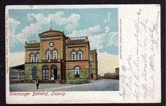 Leipzig Eilenburger Bahnhof Hotel Restaurant 1904
