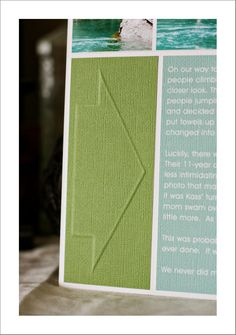 Create your own embossing template. And you just thought that Silhouette was for die cut shapes, now didn't ya. ;)