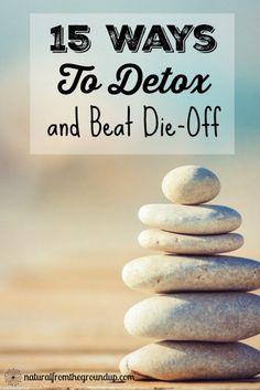 15 Ways To Detox and Beat Die-Off