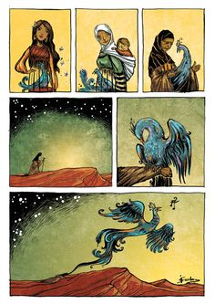 The Secret of Life, page 4, by Ileana Surducan, via Behance