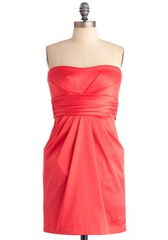 more coral dresses
