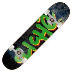 Board complète Cliché Handwritten skateboard rastatoo rasta 7.8 et 8 pouces 120€ #cliche #clicheskateboard #deck #boardcomplete #planche #planchearoulette #skatepro #skate #skateboard #skateboarding #streetshop #skateshop @PLAY Skateshop