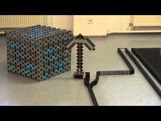INSANE Domino Tricks Hevesh Millionendollarboy Video Pinterest - Video dominoes falling reverse simply mesmerizing
