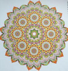 Enige echte mandala derde boek, sunny colors, adult