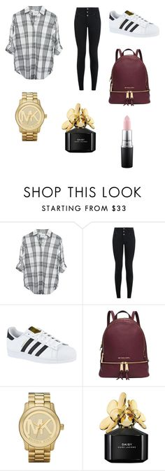 """Untitled #100"" by sadiecoda on Polyvore featuring Rails, New Look, adidas, Michael Kors, Marc Jacobs and MAC Cosmetics"