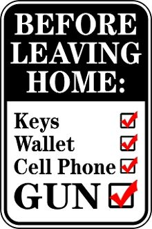 Before You Leave Check List