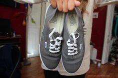 I really want a pair of grey vans <3
