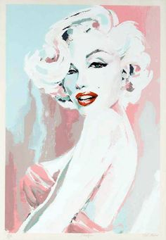 Mint green and pink - fashionable trend colors 2013 also in the interior design - bob mackie print marylin monroe wall decoration mint green pink - Marilyn Monroe Kunst, Marilyn Monroe Artwork, Marylin Monroe Drawing, Marilyn Monroe Bedroom, Marilyn Manson, Bob Mackie, Arte Pop, Photographie Art Corps, Posca Art