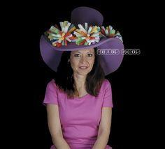 GALERON PIRINCHOS Otro de nuestros sombreros más elegantes y divertidos especialmente diseñado para ellas.¡¡¡ Viva la elegancia !!!