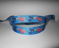 "GROSGRAIN FINDING NEMO 7/8"" INCH RIBBON *YOUR CHOICE 1, 3 or 5 YARDS"