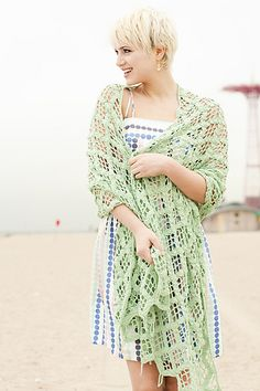 Ravelry: Beachcomber Shawl pattern by Elena Malo