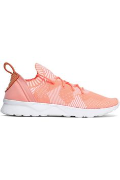 Shop on-sale ZX Flux Adv Virtue PK stretch-knit sneakers. Browse other discount designer Sport Sneakers & more luxury fashion pieces at THE OUTNET Knit Sneakers, Sneakers For Sale, Adidas Sneakers, Adidas Originals Zx Flux, Stan Smith Sneakers, Lace Knitting, Fashion Outlet, Discount Designer, Luxury Fashion