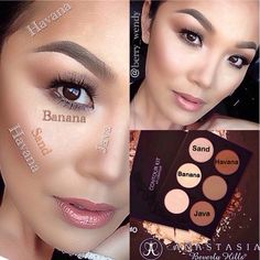 .@berry_wendy | Good morning loves!! Sharing with you guys how I contour and highlight using ... | Webstagram