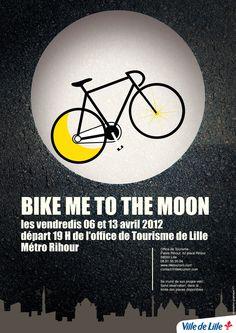 fixie, bike, affiche, poster