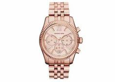 Michael Kors Watch, Ladies Vintage Classic Lexington Chronograph Watch in Rose Gold Stainless Steel   Just $187.50 on Luxurbduddy.com. @Eleanor Smith Oliver This would really look awesome on your what's the time board