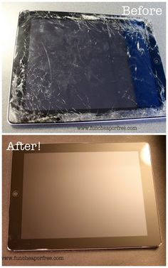 What to do when you break your iPad, iPod, or iPhone screen. Yes, it happens. - a place to fix it, and an insurance plan at a reasonable price.