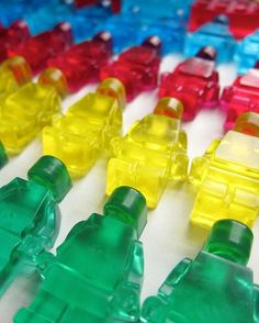 LEGO SOAP, SOAP, SOAP!  Really bright clear soap.  Good instructions