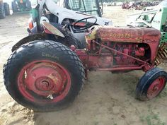 Oliver SUPER 55 tractor salvaged for used parts. This unit is available at All States Ag Parts in Downing, WI. Call 877-530-1010 parts. Unit ID#: EQ-23953. The photo depicts the equipment in the condition it arrived at our salvage yard. Parts shown may or may not still be available. http://www.TractorPartsASAP.com