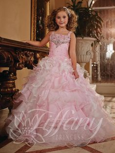 New Fashion Girl'S Pageant Dresses Ball Gown Straps Girl Dresses Princess Kids Pageant Party Gown Customed Size Flower Girls' Dresses Flower Girl Dresses For Kids Flower Girl Dresses On Sale From Sistar_jiang, $39.2| Dhgate.Com