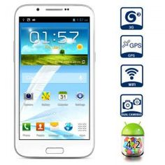 This phone will only work with GSM+WCDMA network  GSM 850/900/1800/1900MHz WCDMA 850/2100MHz.  Unlocked for Worldwide use, please check if your local area network is compatible with this phone    Main Features  Type: Touch screen phone  Color:  White  OS: Android 4.2  CPU: MTK6589 Cortex-A7 Quad ...  Click on Picture to go to Store