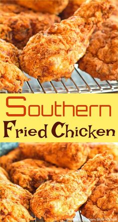 Southern Fried Chicken Southern Fried Chicken You are in the right place about party food Here we offer you the most beautiful pictures about the food saludable you are looking for. When you examine the Southern Fried Chicken part Best Fried Chicken Recipe, Homemade Fried Chicken, Chicken Drumstick Recipes, Easy Chicken Recipes, How To Fry Chicken, Salmon Recipes, Paula Deen Fried Chicken, Air Fry Chicken, Fried Wings Recipe