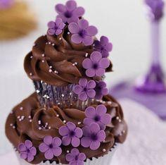 cupcakes à deux étages / two story cupcakes
