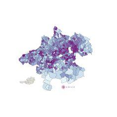Pendler Quote in Oberösterreich: Die interaktive Similio Pendler Quote Karte zeigt die Pendler Quote im Bundesland Oberösterreich an. Detaillierte Ansichten befinden sich im Bereich Landkarten:Bezirke und Landkarten:Landschaften mit Pendler Quote der untergeordneten Bezirke und Landschaften.