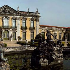 Panoramic 3/3 - Portugal - To see it full go to my profile @dotphotobr  The Queluz Palace and its gardens is one of the best examples of Portuguese architecture from the end of the 19th century. XVIII. It was built by Pedro III husband of Queen Maria I (1734-1816) and used as royal residence. It was enriched with an important museum of decorative arts whose collections belonged for the most part to the royal family and are exposed in their own context. Many of its rooms have rocaille decor…