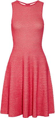 ShopStyle: Issa Textured knitted dress
